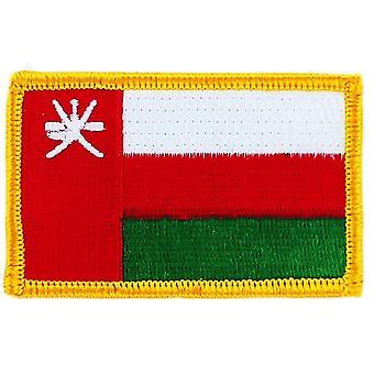 التصحيح Ecusson برود العلم سلطنة D-أبوس; عمان العلم Thermocollant شارة بلاسون