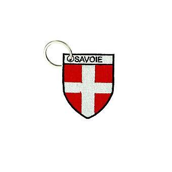 Cle Cles Clef brode patch Ecusson flagga Blason Savoie Savoyard