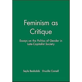 Feminismi kritiikinä kirjoittanut Seyla BenhabibDrucilla Cornell