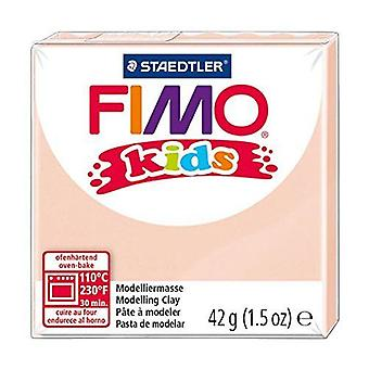 Fimo Kids modelagem argila, cor da pele, 42 g