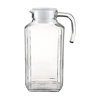 Luminarc Quadro Glass Fridge Jug With Lid
