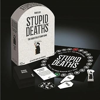 Stupid deaths - frightfully funny dark true or false board game