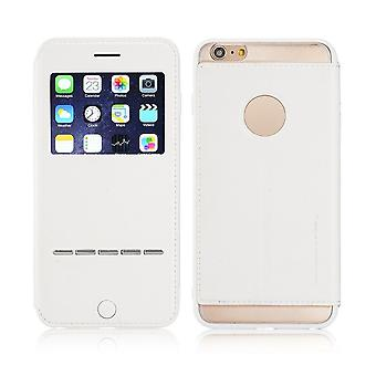 Case For iPhone 6 Plus / 6s More White With Window