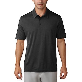 adidas Golf Mens Adicross Untucked No-Show UPF 30 Polo Shirt