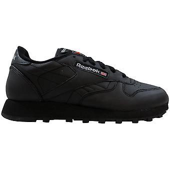 Reebok Classic Leather Black 1-5324 Women's