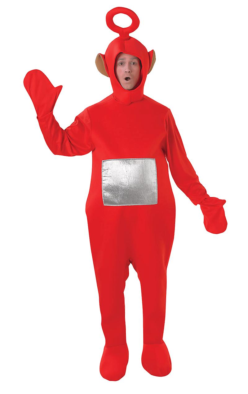 Adult Po Teletubbies TV Funny Stag Night Group Fancy Dress Costume