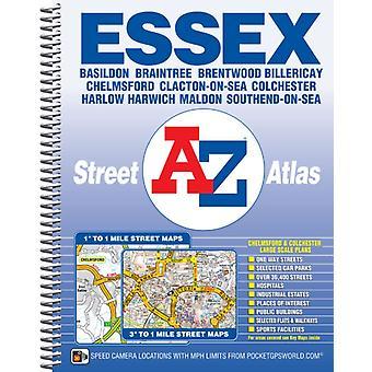 Essex AZ Street Atlas spiral by AZ maps