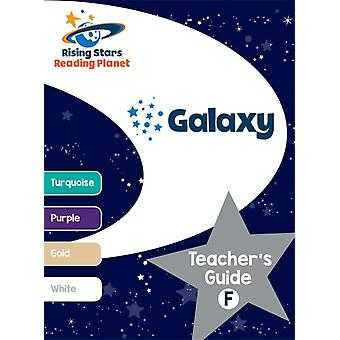Reading Planet  Galaxy Teachers Guide F Turquoise  Whit by TBC