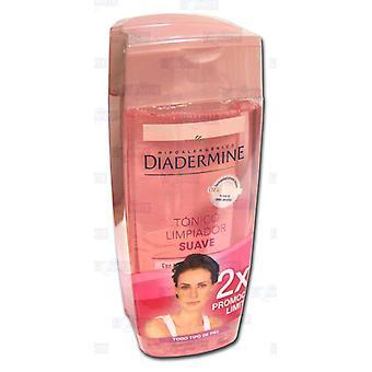 Diadermine Essential Care Pack 2 sztuki Delikatny tonik oczyszczający 2x1