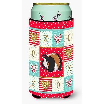 Sheba Guinea Pig Love Tall Boy Beverage Insulator Hugger