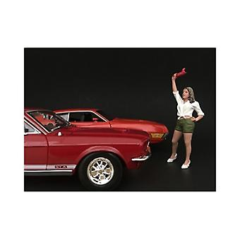 70\'S Style Figure Ii For 1:18 Scale Models Par American Diorama