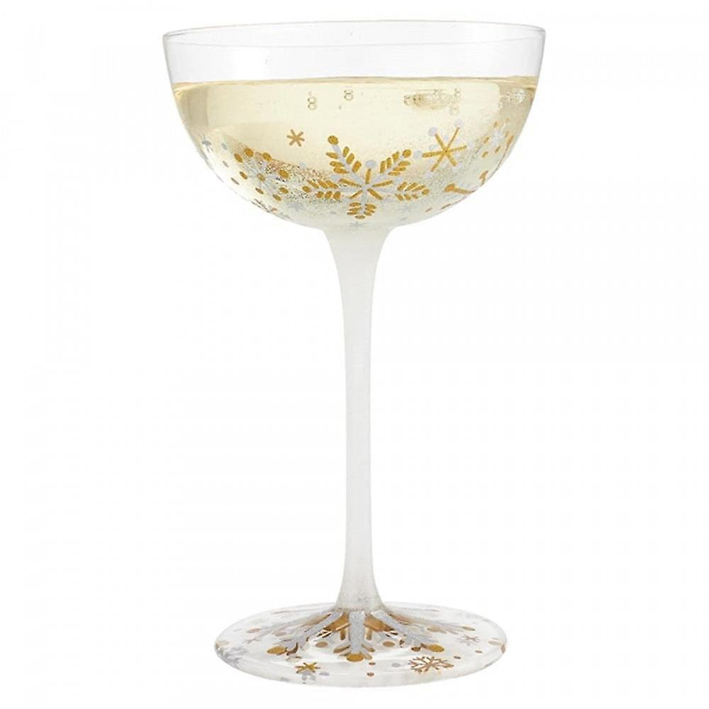 Lolita First Snowflakes Coupe Glass