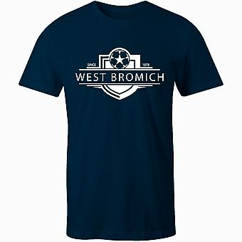 West Bromwich Albion 1878 Established Badge Football T-Shirt