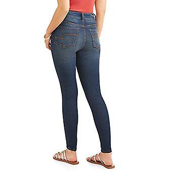 Time and Tru Women's Core High Rise Skinny Jean (Harriman Wash, 2)