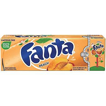Fanta Us Peach-( 355 Ml X 12 Burkar )