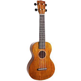 Mahalo Natural Hano Concert Ukulele - Aquila Strings & Free Bag