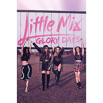 Little Mix Glory Days Poster