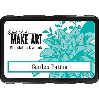 ウェンディヴェッキはアート染料インクパッドを作る - ガーデンパティナ