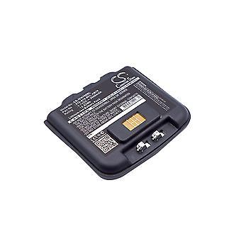 Bateria do Intermec CN3E CN4E AB15 AB16 AB9 318-016-001 318-016-002 3600mAh