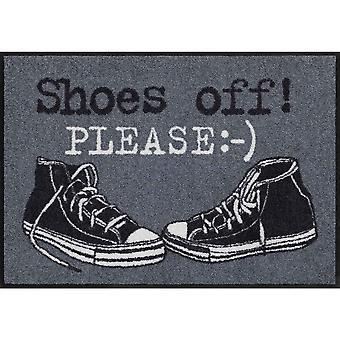 Salonloewe doormat washable Shoes Off Please 50 x 75 cm dirt catching mat