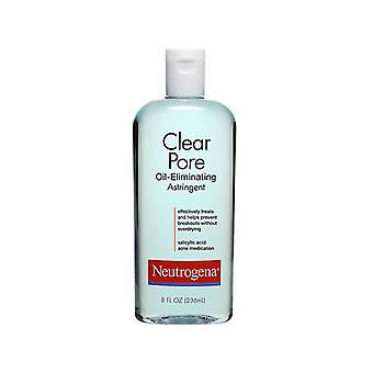 Neutrogena clear pore oil-controlling astringent, 8 oz