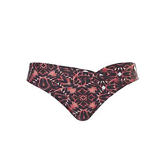 TC WoW - Tropical Reflection Knot Letter - Red Pink Black
