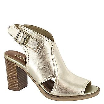 Bella Vita Womens Viv-Italy Leather Peep Toe Special Occasion Mule Sandals