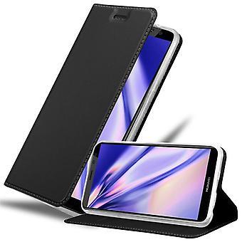 Huawei MATE 10 LITE -taitettavan puhelinkotelon kotelo - kansi - jalustatoiminnolla ja korttipaikalla