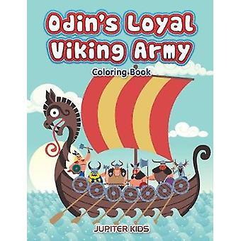 Odins Loyal Viking Army Coloring Book by Jupiter Kids