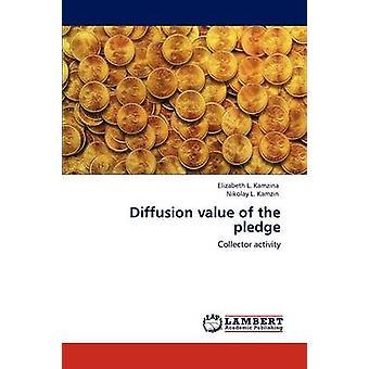 Diffusion Value of the Pledge by Kamzina & Elizabeth L.