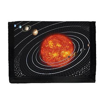 Solsystem Plånbok