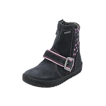 Superfit MERCURY Kids Girls Boots Black Lace-Up Boots Winter