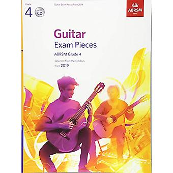 Guitar Exam Pieces from 2019 - ABRSM Grade 4 - with CD - Selected from