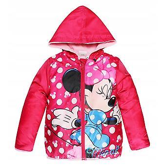 Mädchen HS1150 Disney Minnie Mouse Leichte Jacke mit Tasche