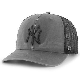 47 Brand Mesh Snapback Cap - HUDSON New York Yankees washed