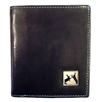 Tyler e Tyler Sparring lebres Jeans carteira de couro - preto