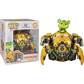 "Overwatch Toxic Wrecking Ball NYCC 2019 US Excl 6"" Pop!"