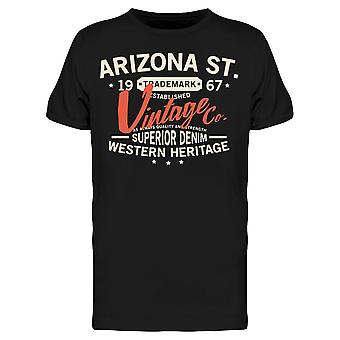 Arizona St Vintage Tee Men's -Bild av Shutterstock