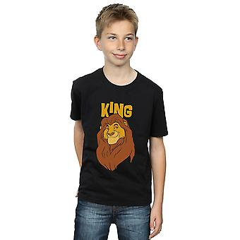 Disney Boys The Lion King Mufasa King T-paita