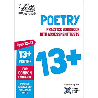 Letts 13 Poetry  Practice Workbook with Assessment Tests