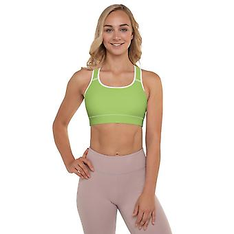 Padded Sports Bra | Simply Green