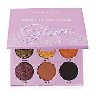 Profusion Mixed Metals 9 Shade Eyeshadow Palette