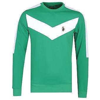 Luke 1977 Casa Veija Chevron Green Sweatshirt