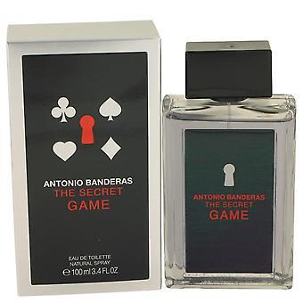 The Secret Game Eau De Toilette Spray By Antonio Banderas 3.4 oz Eau De Toilette Spray