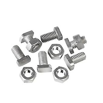 Ambassador Cropped Head Bolts And Nuts (Pack Of 20)