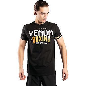 Venum Classic 20 Boxning T-shirt Svart / Guld