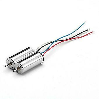 2 Pieces Quadcopter Spare Parts 3.7V Motor 8.5x20mm for Hubsan X4 H107C H107D