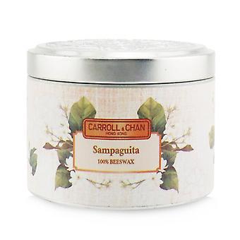 Carroll & Chan 100% Bijenwas Tin Candle - Sampaguita (8x6) cm