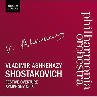 D. Shostakovich - Shostakovich: Festive Overture; Symphony No. 5 [CD] USA import