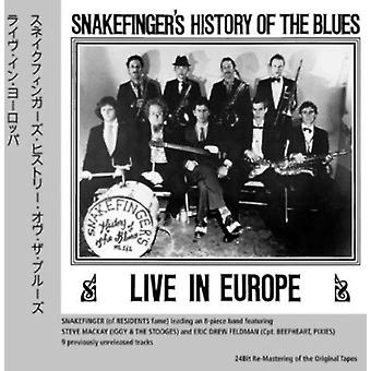 Snakefinger's History of the Blues - Live in Europe [CD] USA import